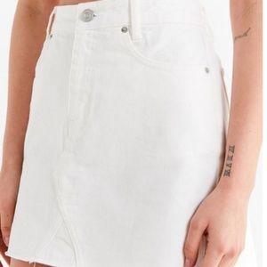 Urban Outfitters BDG White Denim Skirt